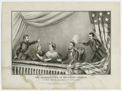 President Abraham Lincoln Assassination  photo