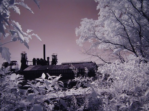 Carrie Furnace. digital infrared by John Fobes