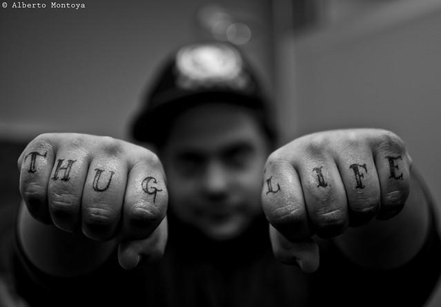 55/365 - Thug Life