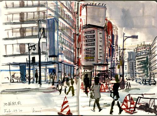 Ikebukuro by kumi matsukawa