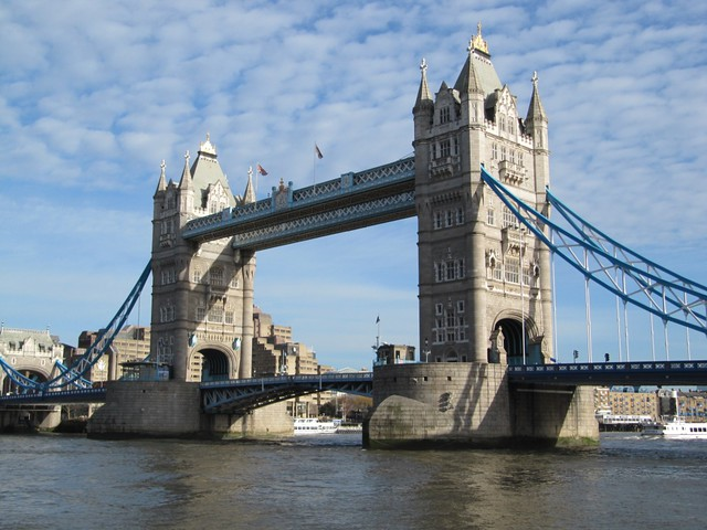 Tower Bridge, as seen from City Hall