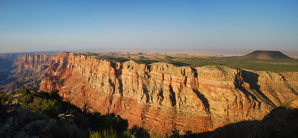 Panorama of Desert View, Grand Canyon