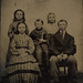 Tintype Group of Children and Sword