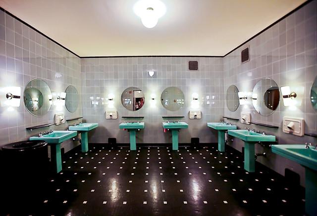 Art Deco Bathroom a gallery on Flickr
