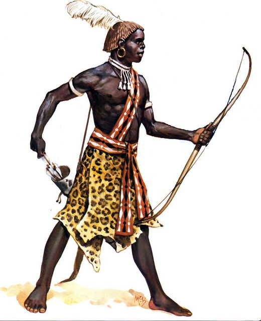 Ancient African Warriors