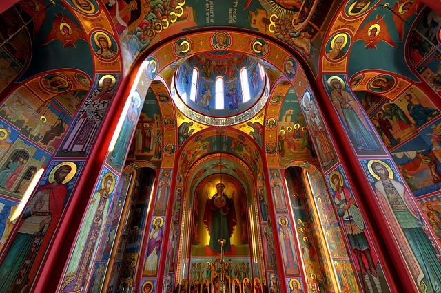 Russian Orthodox Fresco