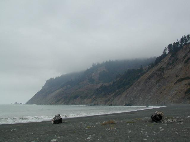 Usal Beach Foggy