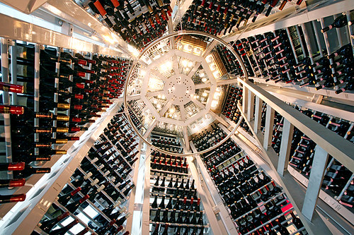 Le Cirque Wine Lounge - Wine Tower