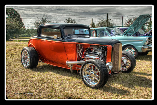 ford florida cocoa coupe hdr 1933 photomatix 3window 3exp winterfestopencarshow