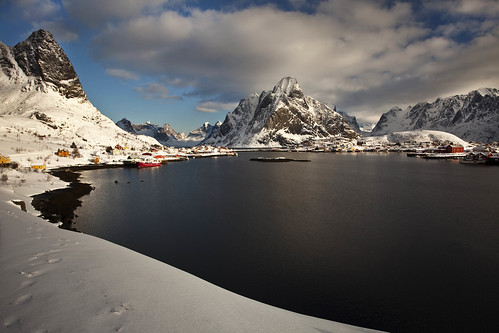 Easter at Reine in Lofoten, Norway