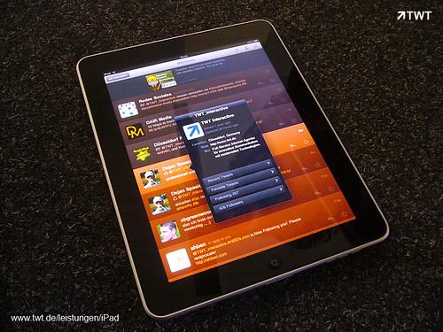 iPad bei TWT