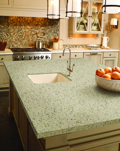Solid Color Kitchen Countertops : DuPont Zodiaq Savory Flickr - Photo Sharing!