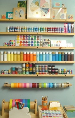 colorful,craft,room,crafts,office,organization,paints-aeb12f6de8a5adf2572069a48fe438a2_h