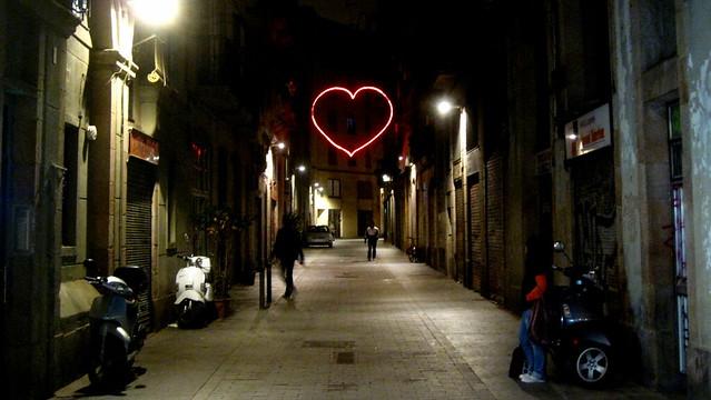 Barcelona Heart Street