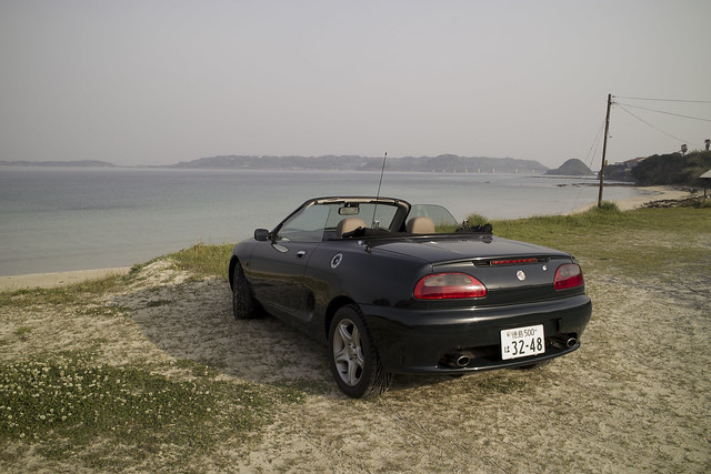 Open Air Driving with MGF DP1s
