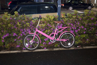 sendagaya_pink_bicycle
