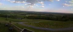 the view at Bluemont Vineyard, Bluemont, VA