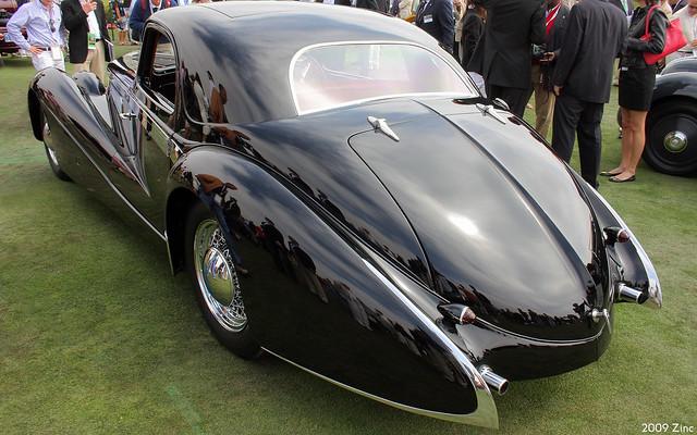 1937 Delage D8 Letourneur et Marchand Aerodynamic Coupé - rvl
