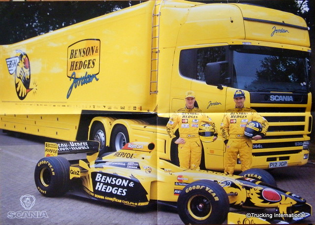 Jordan grand prix scania poster flickr photo sharing for Fujifilm s2000hd prix