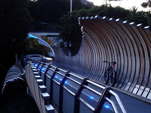 Onepoto Cycleway Bridge
