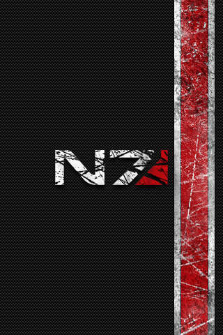 N7 Wallpaper - Mass Effect   In a photoshop mood and ...