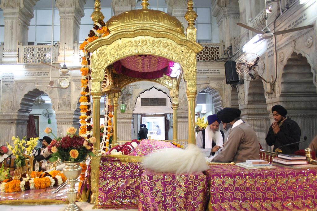 City Landmark - Gurudwara Seesganj Sahib, Chandni Chowk