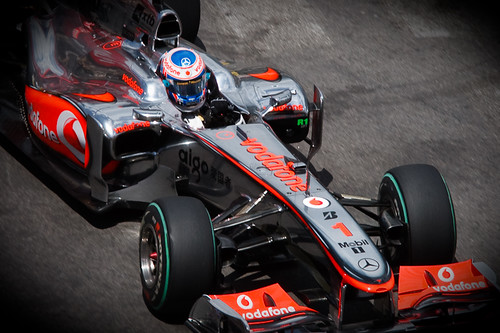 Jenson Button - Bunged-Up