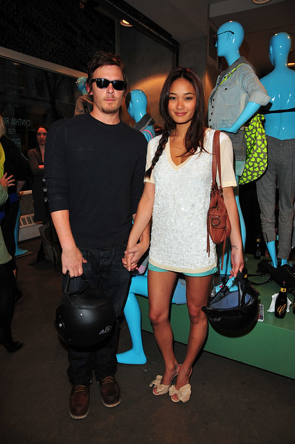 Norman Reedus Girlfriend http://www.flickr.com/photos/22653992@N02/4636390370/