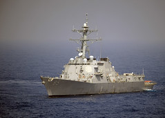 WESTERN PACIFIC (May 26, 2010) - Stock photo of USS McCampbell (DDG 85) by Mass Communication Specialist 3rd Class (SW) Adam K. Thomas.