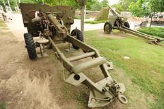 cannon, land vehicle,