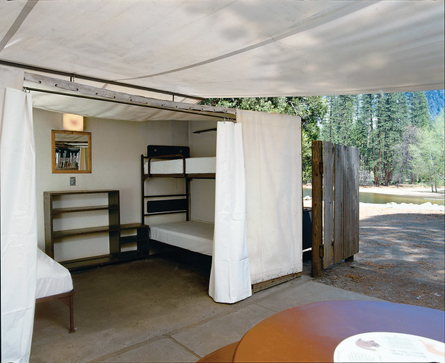 Tent at yosemite s housekeeping camp flickr photo sharing