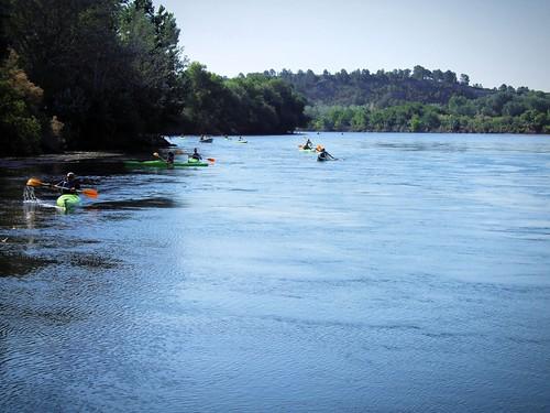 españa río river spain canoe catalunya kdd ebro tarragona kajak miravet riberadebre piragua gaf500 enfoca