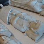 ca. 1325 - `knight, probably Gaucher III de Châtillon-Porcien (Porcéan), seigneur de Dampierre, Thour and Sompuis (+1325)`, former Abbaye de Pont-aux-Dames, Couilly-Pont-aux-Dames, dép. Seine-et-Marne, Musée du Louvre, Paris, France