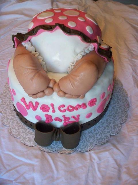 Baby Rump Cake Images : baby rump cake baby bottom cake By: yumyumcandi ...