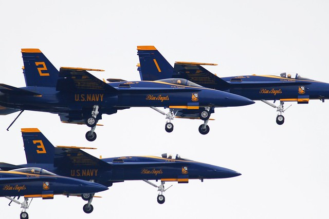Blue Angels over Milwaukee