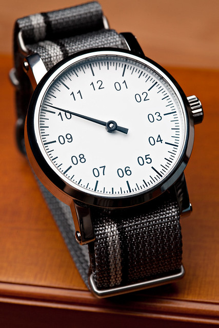 Custom Single-Hand Watch   Flickr - Photo Sharing!