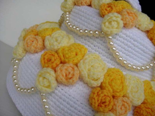 Crochet African Flower Purse Free Pattern
