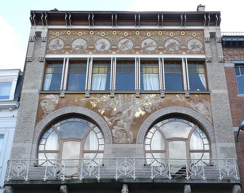 Bruxelles art nouveau belgique defacqz h tel for Architecte bruxelles