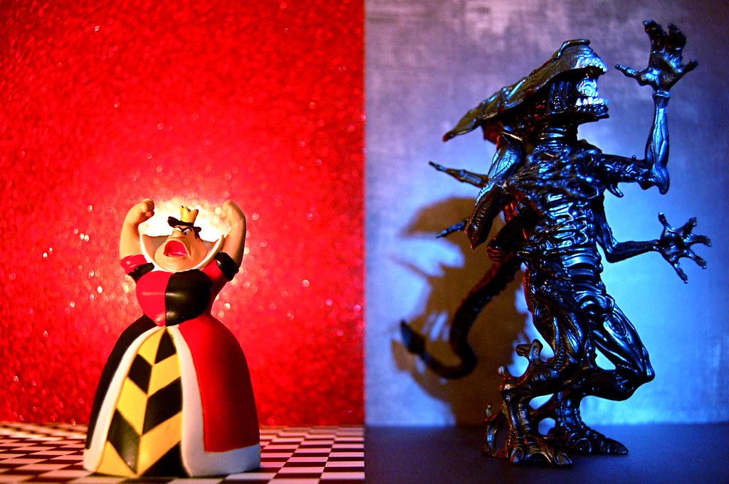 Queen of Hearts vs. Alien Queen (310/365)