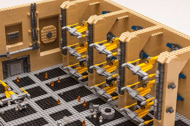 Theed Spaceport MOC - 26