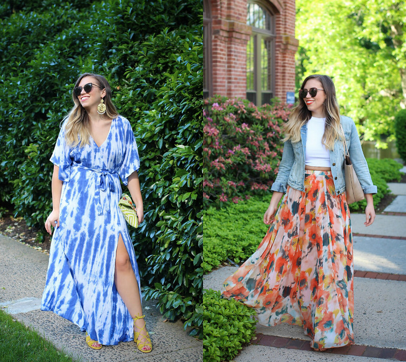 Summer Outfit Ideas Maxi Skirts June 2017 Round Up Living After Midnite