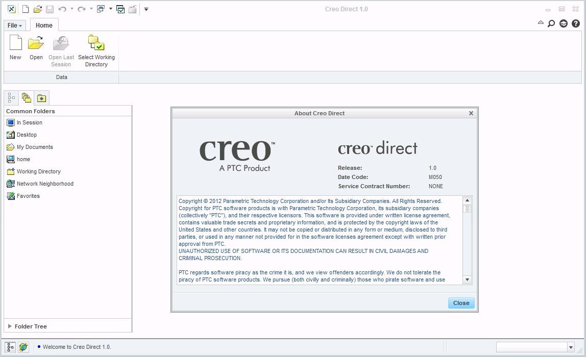 PTC Creo 1.0 M050 - creo direct