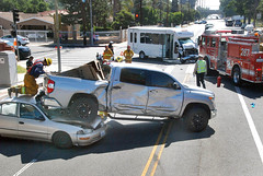 Seat Belts Spare Serious Injury in North Hills Collision