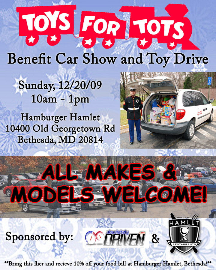 Toys For Tots Articles : Dec toys for tots car show and toy drive