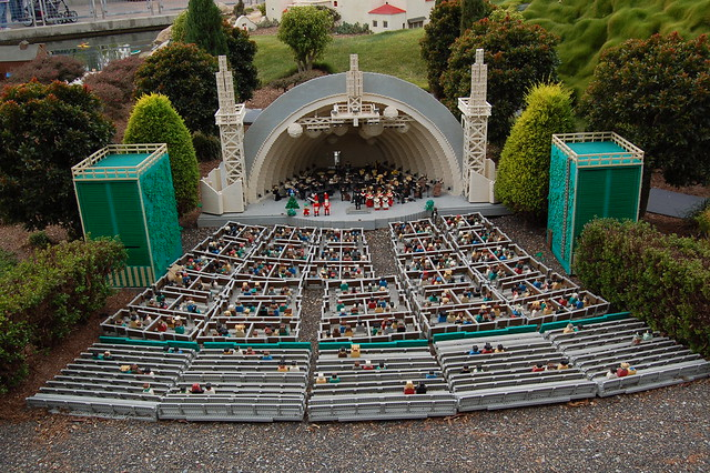 Lego Hollywood Bowl Flickr Photo Sharing
