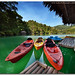 """Kayak's at Lake Balanan"" :: Lake Balanan Series"