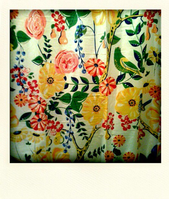 Curtains Ideas anthropology shower curtain : Floral Curtains - a gallery on Flickr