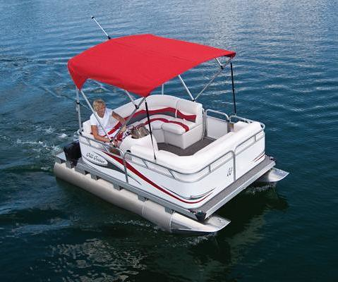 713 Rl Small Electric Pontoon Boat Flickr Photo Sharing