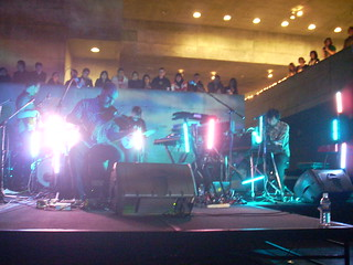 The Album Leaf playing live at the Berkeley Art Museum