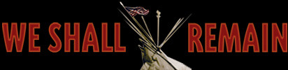 We Shall Remain PBS header